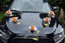 hochzeitsdekoration auto rattan deko mit und feder dekoration hochzeitsdekoration