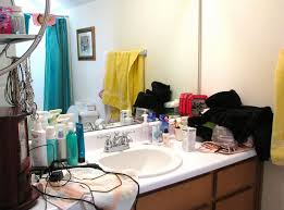 Messy Bathroom Sharing A Bathroom The Right Bathroom Renovations Can Make It