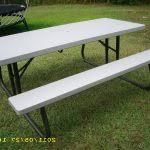 lifetime foldable picnic table lifetime 6 folding picnic table brown luxury new lifetime 2900 22