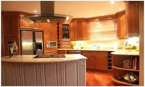 flat front kitchen cabinets cherry wood saddle windham door kitchen cabinets colorado springs