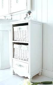 Bathroom Storage Seats White Bathroom Storage Freestanding Cabinets Intended For Free