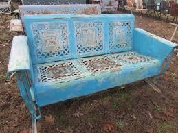 Antique Metal Porch Glider Metal Porch Glider Home Design Styles