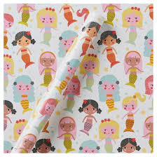 gift wrapping paper mermaid gift wrap spritz target