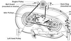 mtd mower deck belt diagram 28 images mtd 46 mower deck belt