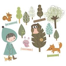 woodland wall stickers all about the woodland fabric removable wall stickers