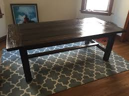 140 year old reclaimed barnwood dining table woodworking