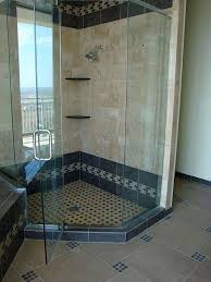 bathroom excellent shower tiles ideas with brown tiles wall and