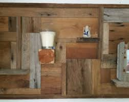 Barnwood Wall Shelves Barn Wood Wall Art Etsy