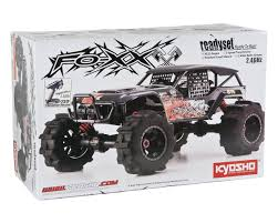 nitro monster truck rc kyosho fo xx nitro readyset 1 8 4wd monster truck kyo33151b