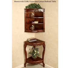 Natural Wood Furniture by Curio Cabinet Cherry Cornero Cabinet China Cabinetsos American
