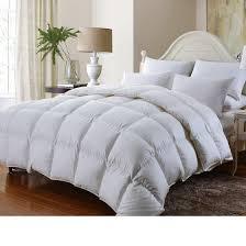 Comforter Thread Count Luxurious Goose Down Alternative Comforter