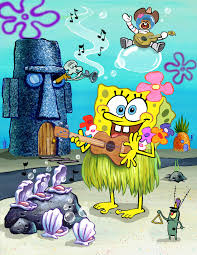 cartoon snap spongebob illustration art for the village voice