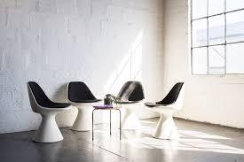 hollen saarinen style contemporary dining swivel chairs u2013 the good mod