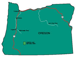 oregon facts symbols tourist attractions
