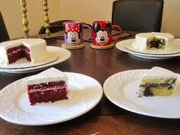 wedding cake tasting girl veggie mickey minnie mouse wedding cake tasting