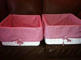 Pottery Barn Baskets With Liners Pottery Barn Baskets With Liners For Sale