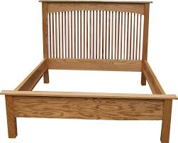 bed frame with hooks
