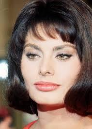 italian domme in hair curlers sophia loren made the cat eye her own nobody does it quite like