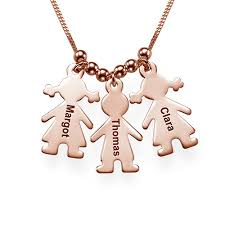 mothers necklace charms mothers necklace with engraved children charms gold plated jumbo 1 jpg