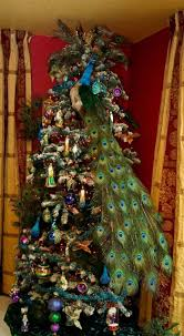 Christmas Tree Decorating Ideas Get 20 Peacock Christmas Tree Ideas On Pinterest Without Signing