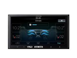 in dash digital media receiver with apple carplay alpine ilx 700