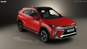 mitsubishi 2017 eclipse 360 view of mitsubishi eclipse cross 2017 3d model hum3d store