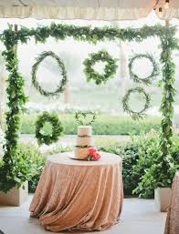 wedding backdrop greenery of greenery wedding decor ideas youll 17