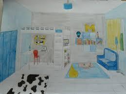 dessiner une chambre en perspective pièce perspective les petits trucs de canelle