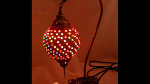 how to add beads to a gourd lamp youtube