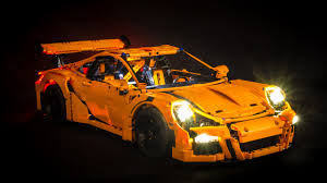 lego porsche 911 gt3 rs light my bricks lego porsche 911 gt3 rs 42056 light kit led light