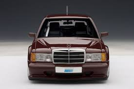 amazon com autoart 1 18 mercedes benz 190e 2 5 16 evo2 red