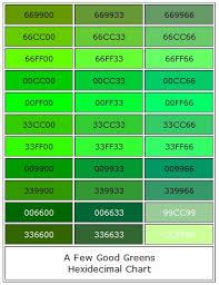 shades of green hexidecimal shades of green green pinterest