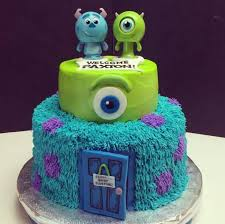 Monster Inc Baby Shower Decorations Monsters Inc Baby Shower Cake Baby Shower Ideas Pinterest