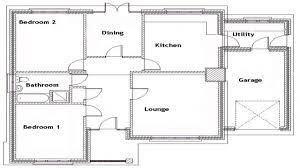two bedroom single story house plans pictures two bedroom bungalow designs free home designs photos