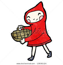 red riding hood cartoon stock vector 63175513 shutterstock