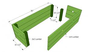 flower box plans myoutdoorplans free woodworking plans and
