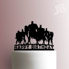 league happy birthday cake topper 100 justice league happy birthday cake topper 100