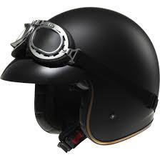 ls2 motocross helmet ls2 of583 bobber matt black helmet motocard