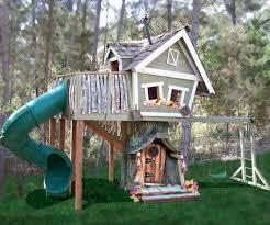 Tree House Backyard by Backyard Treehouse Kits Backyard And Yard Design For Village