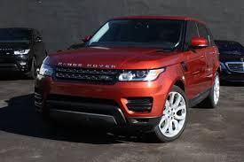 orange cars 2016 range rover orange miami exotic car rental luxury cars for rent