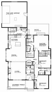 Narrow Lot Floor Plans Narrow Lot House Plans With Garage Hahnow