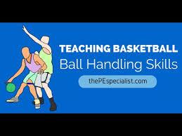 teaching basketball u2013 ball handling u0026 dribbling pe games