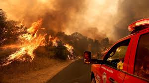 California Wildfires Highway Closures by Wildfires Across California Continue To Grow U0027we Have Very Active
