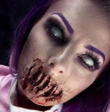 make up artist sarah mudle creates terrifying looks for halloween
