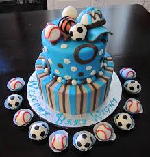 Photo Hawaiian Baby Shower Cake Image