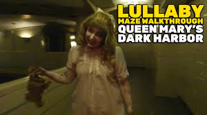 lullaby maze walkthrough at queen mary u0027s dark harbor 2016 youtube