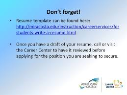 Employment Specialist Resume Writing Your Resume Julie Essman Student Employment Specialist