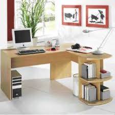 Viking Office Desks Newbury Ergonomic Office Desk 1300mm Maple Effect Right Curve