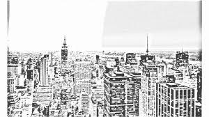 auto draw 2 ny skyline youtube