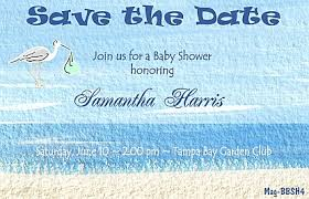 Baby Shower Save The Date Stork Baby Shower Save The Date Magnet